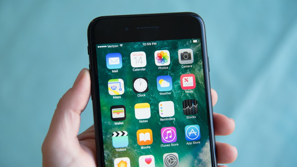 How to get app back on iphone screen